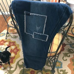 Patchwork jeans - brand new